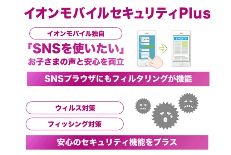 イオンモバイルセキュリティアプリ