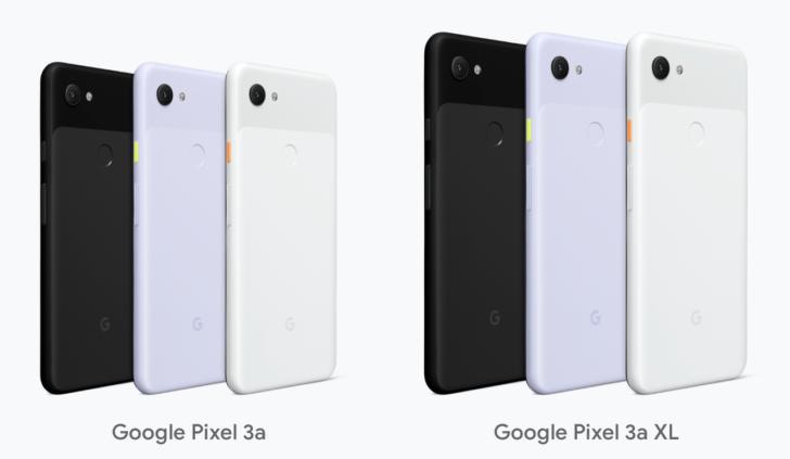 Google Pixel 3a:3aXL