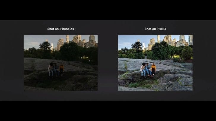 ドコモ ソフトバンク Pixel 3/XLを11月1日に発売!iPhoneXSとのスペック・価格比較 Night-Sight