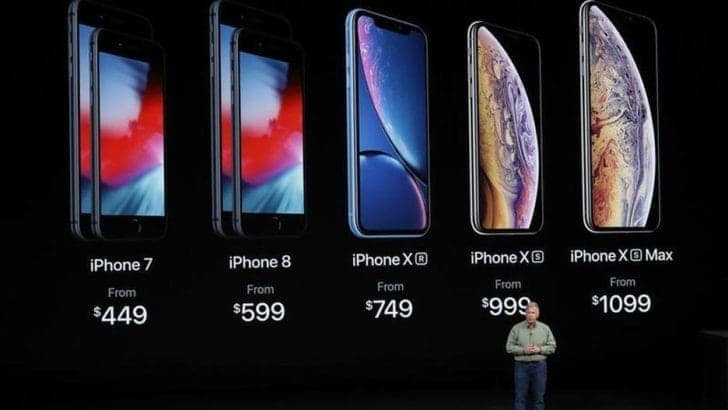 iPhone XS/Max XR X 8 7 6s 6/Plus SEの価格・性能・スペック比較表 apple-iphone-xs-xs-max-xr-prices