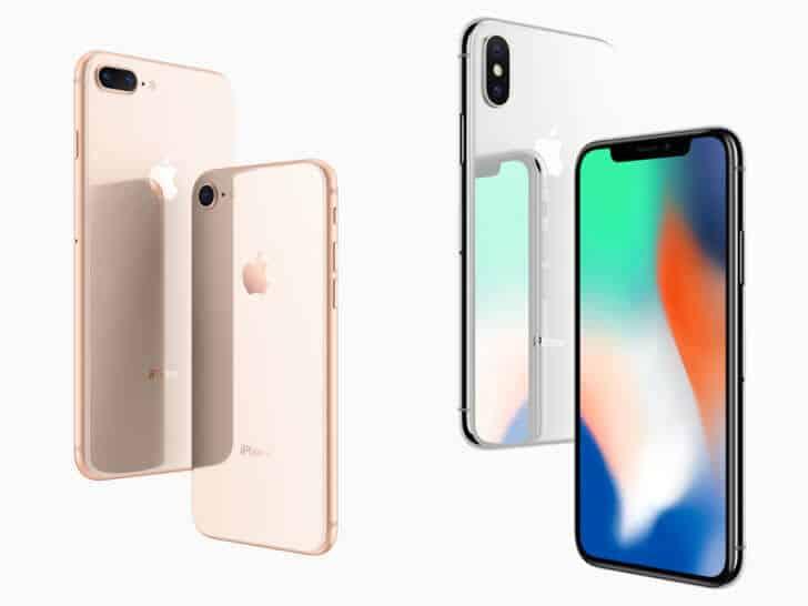 学割をご利用の方限定!iPhone8(64G)+iPhoneX(64G) セットで一括0円(1/28迄) iphonex-iphone8